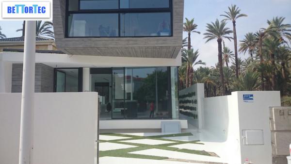 fachada casa poliuretano