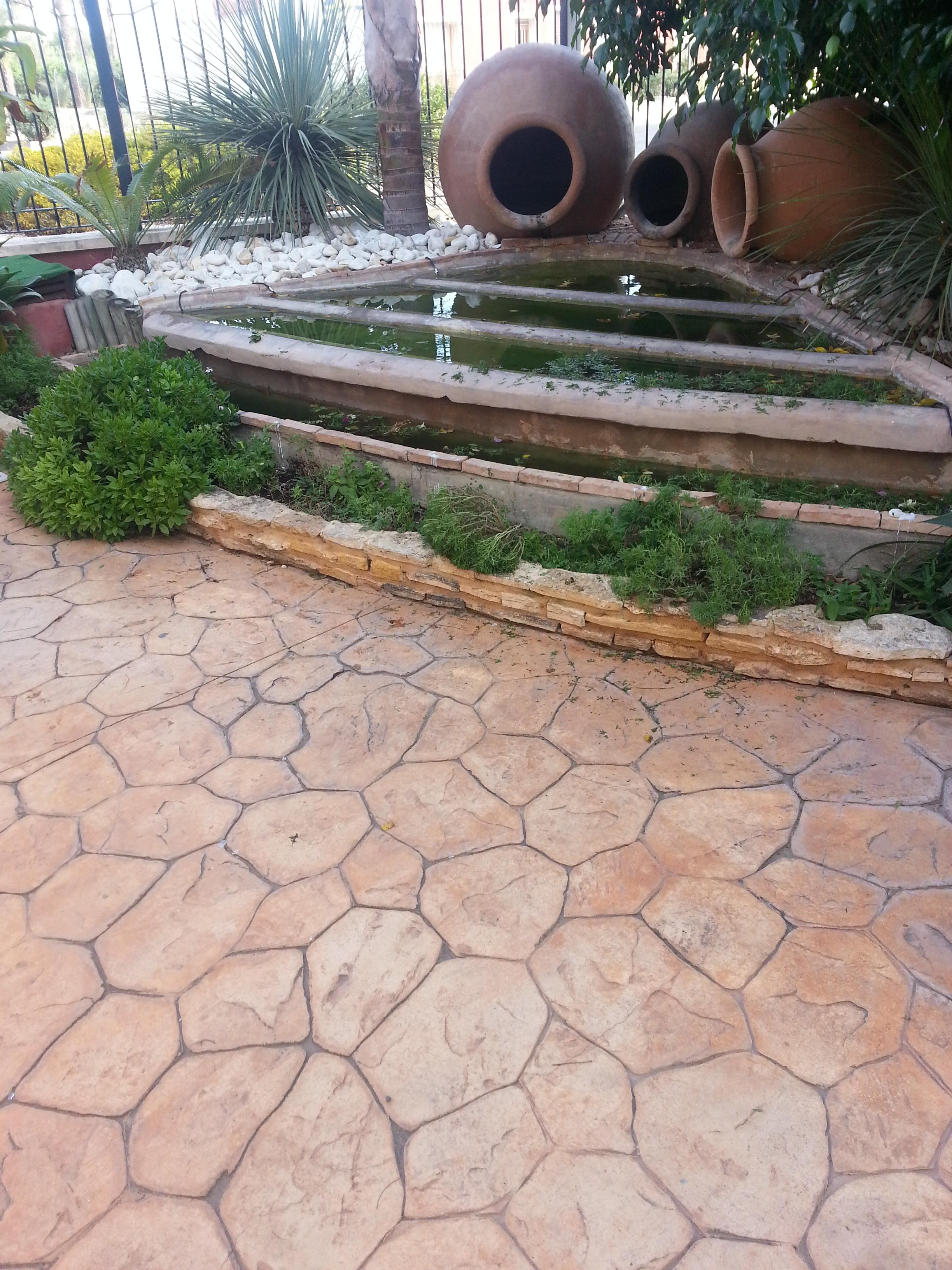 Hormigon impreso precio bettortec pavimentos continuos for Hormigon impreso suelo